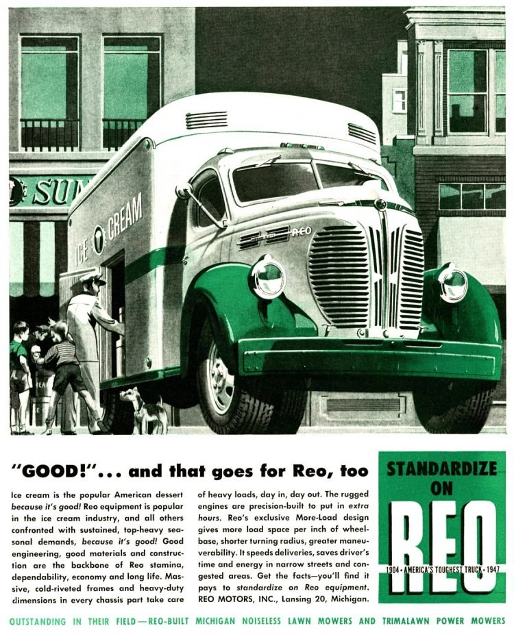 Vintage REO trucks from the 1930s (2)