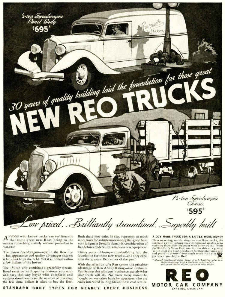 Vintage REO trucks from the 1930s (5)