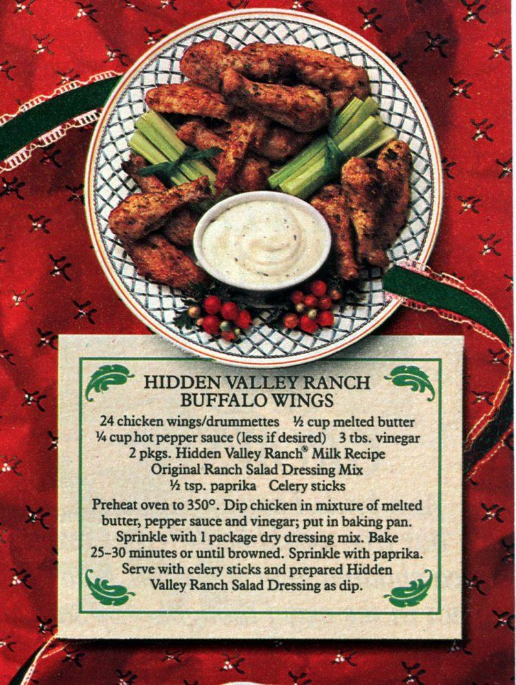 Vintage Ranch Buffalo Wings recipe