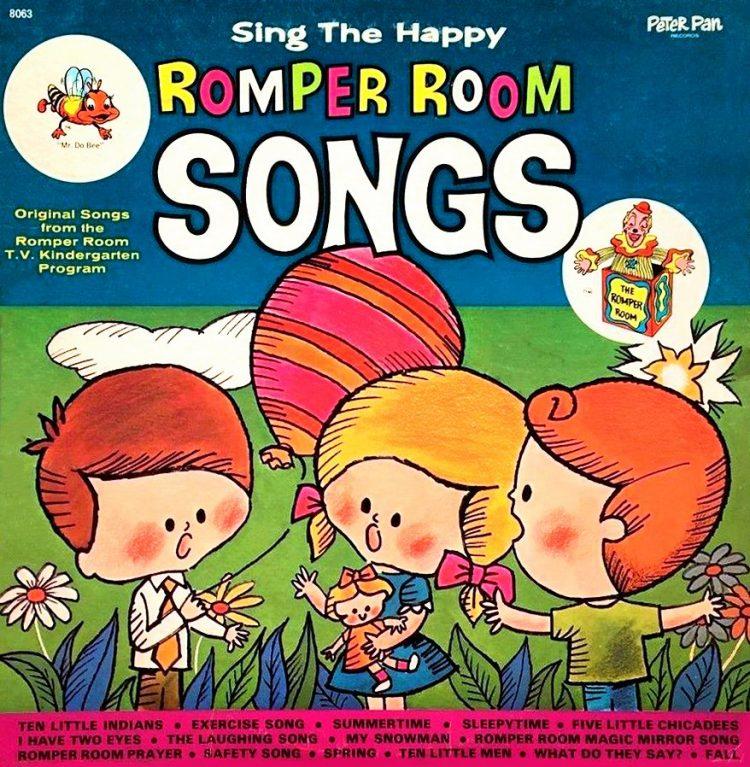 Vintage Romper Room Songs album