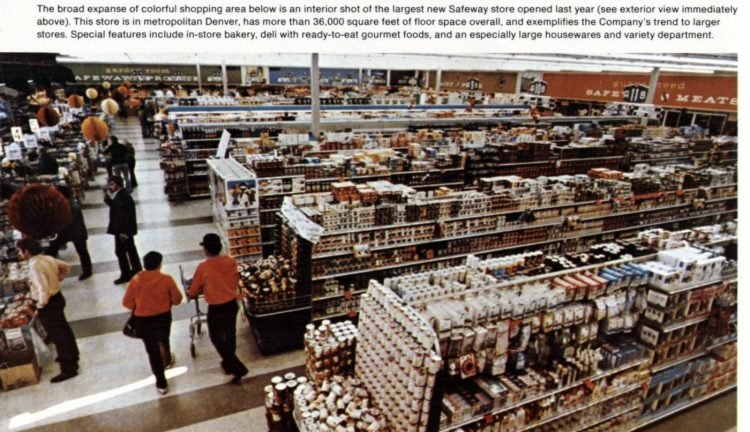 Vintage Safeway stores from the early 70s (1)