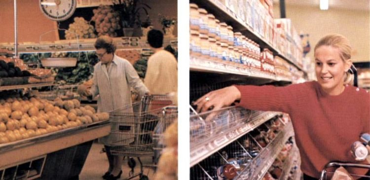 Vintage Safeway stores from the early 70s (2)