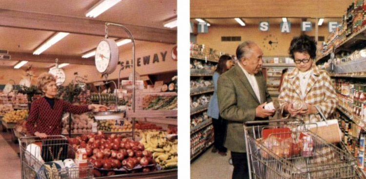 Vintage Safeway stores from the early 70s (4)