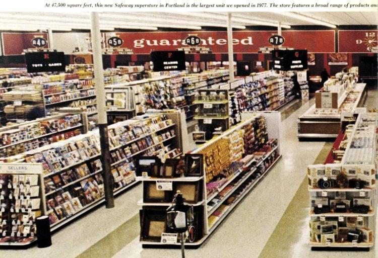 Vintage Safeway supermarket in 1977 (2)