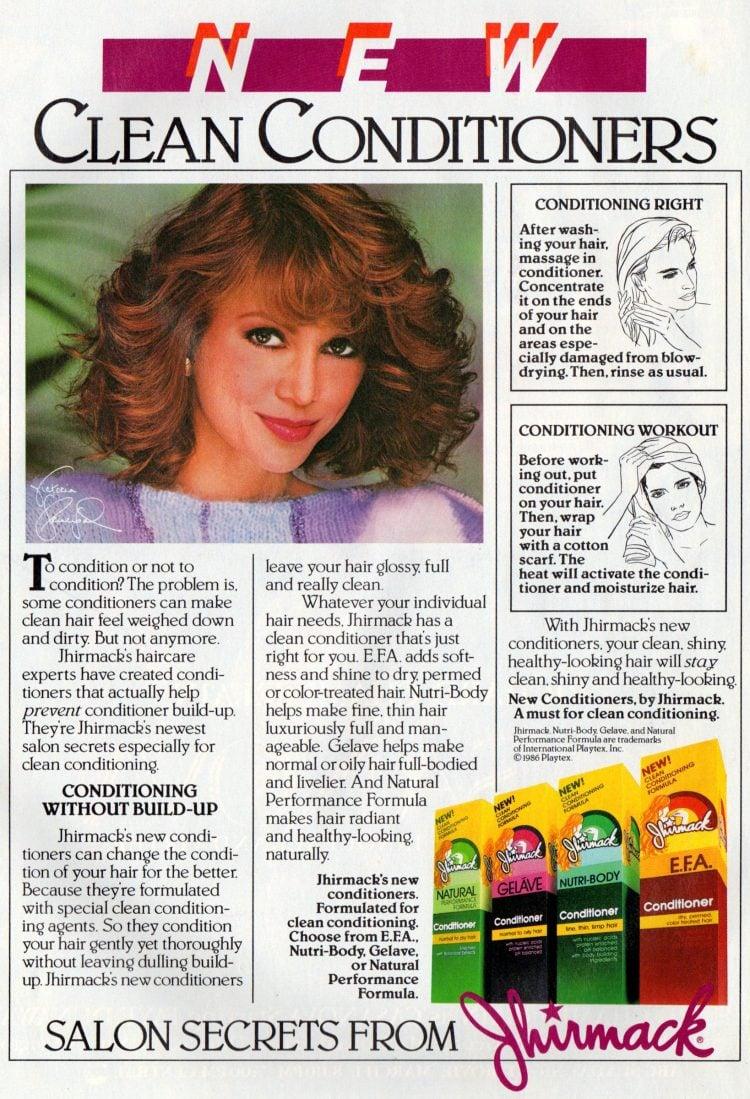 Vintage Salon secrets from Jhirmack (1987)