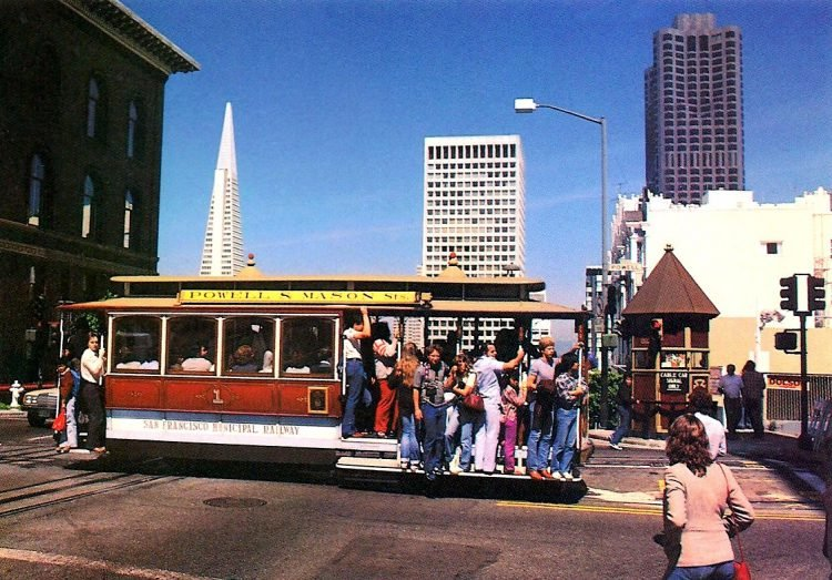 Vintage San Francisco postcards from the 1970s (10)