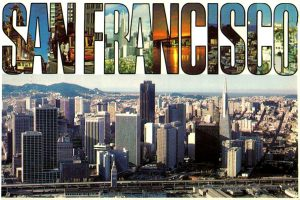 Vintage San Francisco postcards from the 1970s (4)