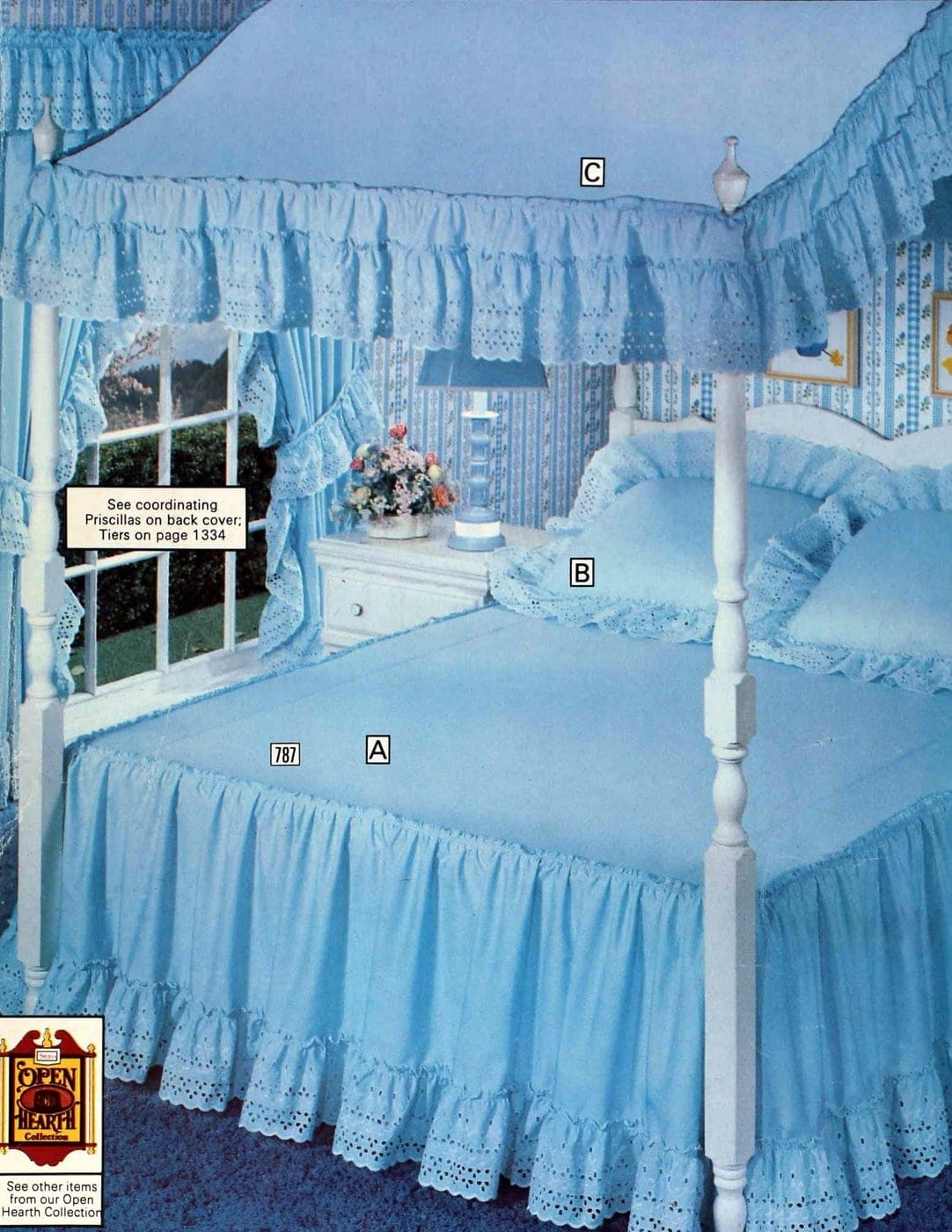 Vintage Sears canopy beds from 1977 (1)