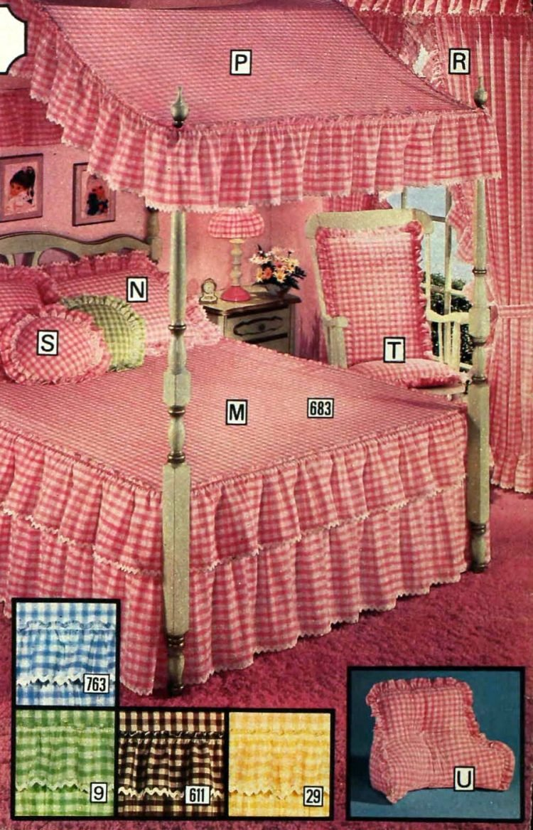 Vintage Sears canopy beds from 1977 (3)