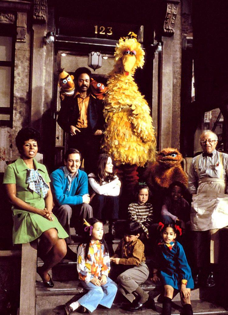 Vintage Sesame Street cast - 1969 1970