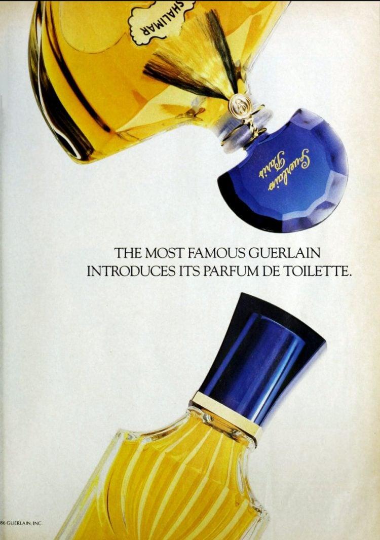 Vintage Shalimar perfume - Guerlain - 1987