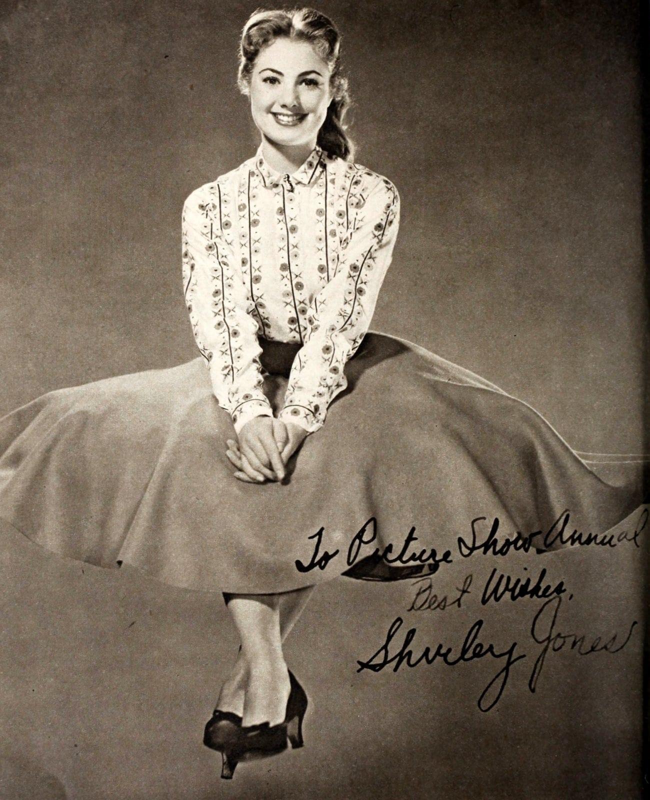 Vintage Shirley Jones autograph (1959)