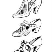 Vintage Shoes Fashionable Women's Footwear from the 20th Century (3)