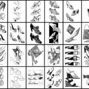 Vintage Shoes Fashionable Women's Footwear from the 20th Century - sample pages (1)