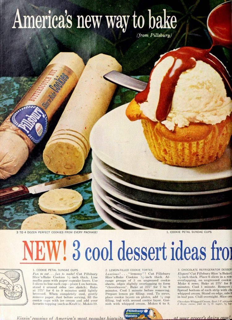 Vintage Slice and bake cookies from 1960 (1)