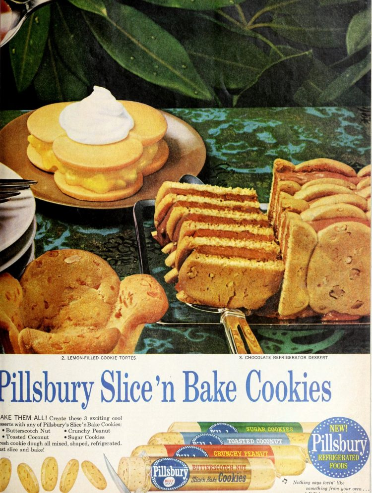 Vintage Slice and bake cookies from 1960 (2)