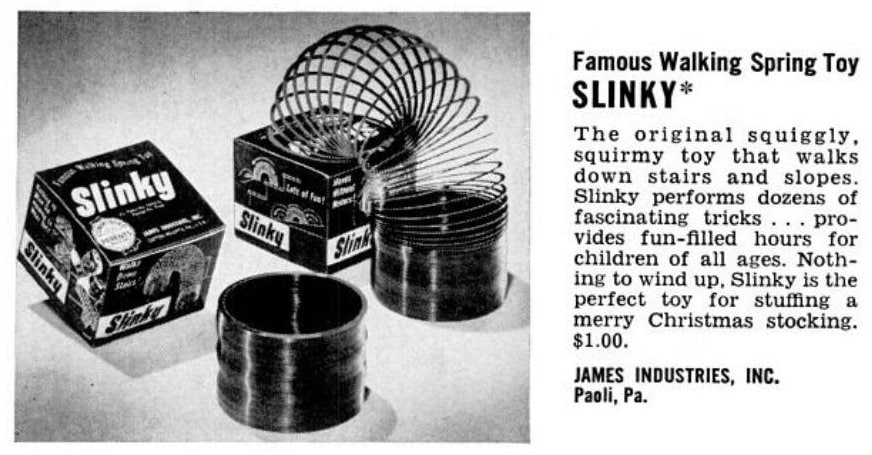 Vintage Slinky Toys (1954)