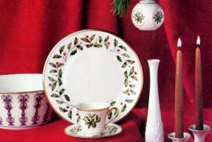 Vintage Spode and Lenox Christmas china sets Collectible holiday dinnerware patterns