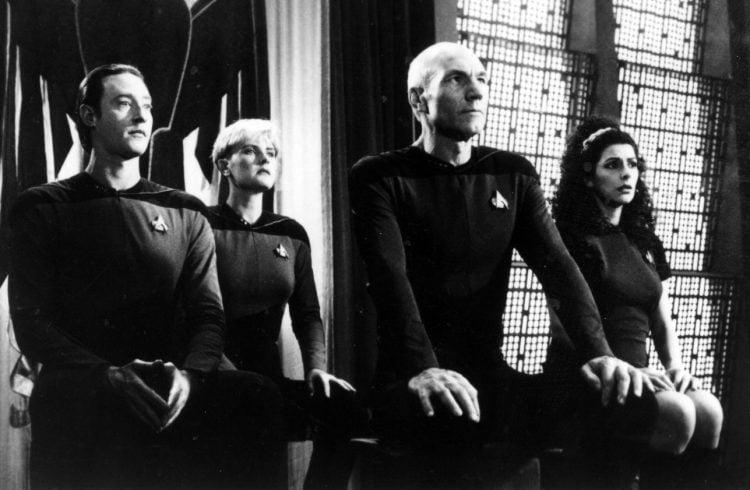 Vintage Star Trek The Next Generation scenes (1)