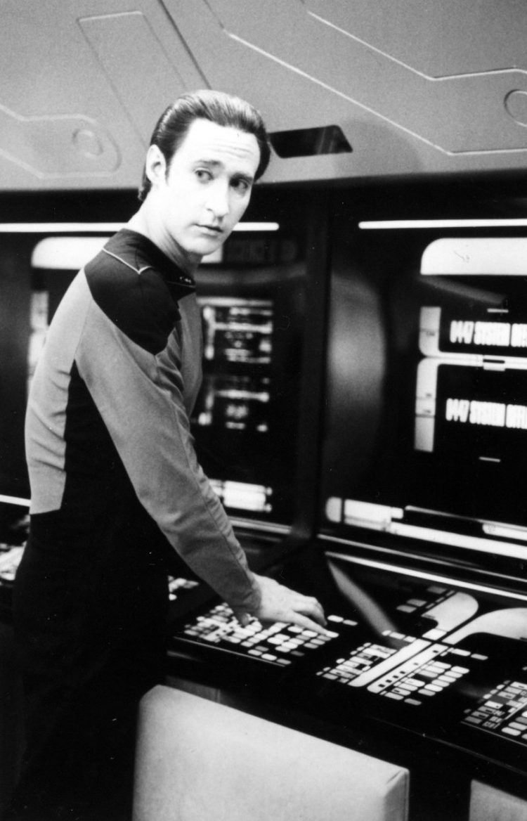 Vintage Star Trek The Next Generation scenes (3)