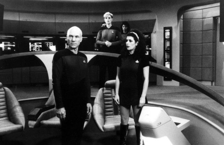 Vintage Star Trek The Next Generation scenes (4)