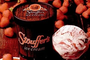 Vintage Stouffer's ice cream from the 1970s
