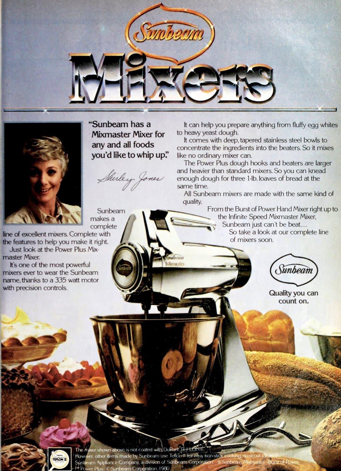 Vintage Sunbeam Mixmaster mixer (1980)