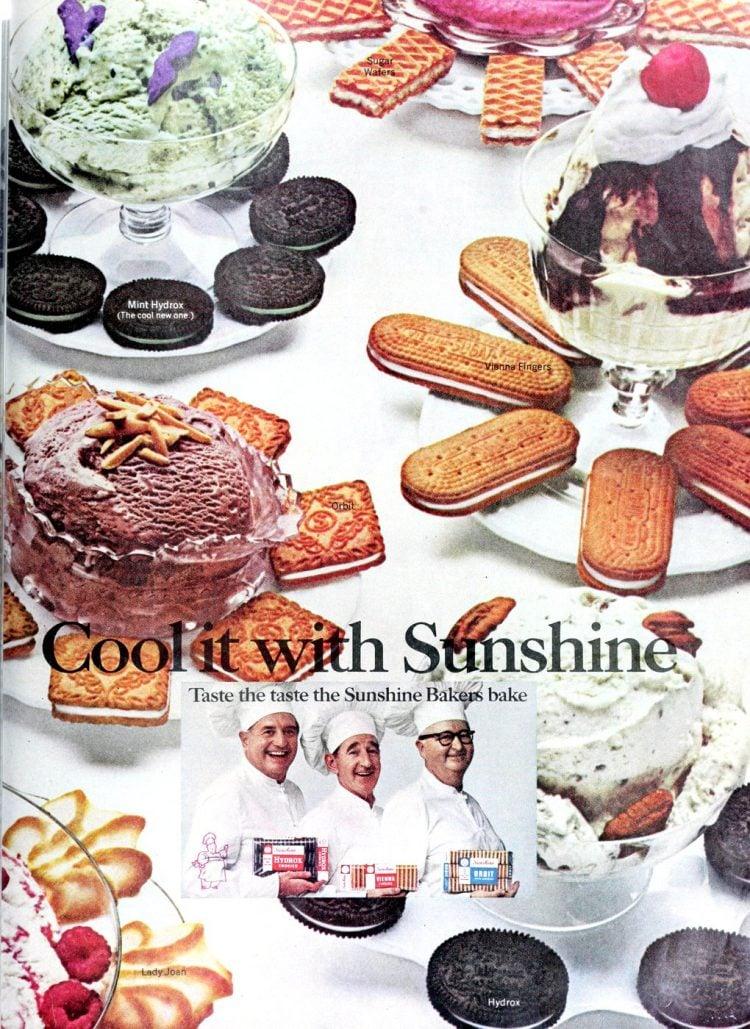 Vintage Sunshine cookies (1968)