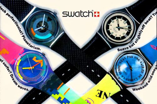Vintage Swatch The colorful watch craze of the 1980s and 1990s