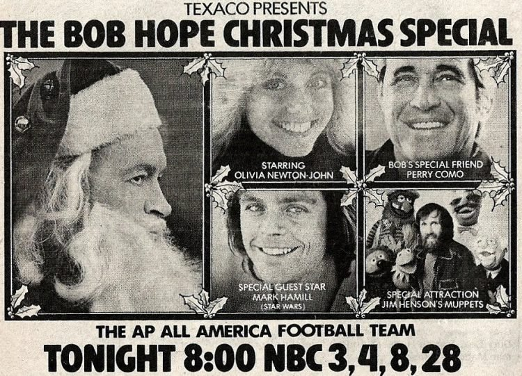 Vintage TV Bob Hope TV special from 1977