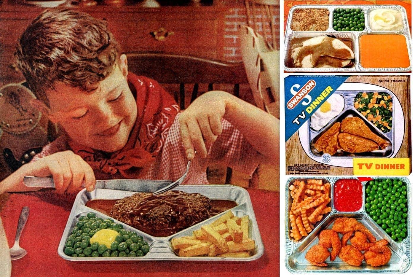 30 vintage TV dinners: Fried chicken, turkey, pot roast & other fab