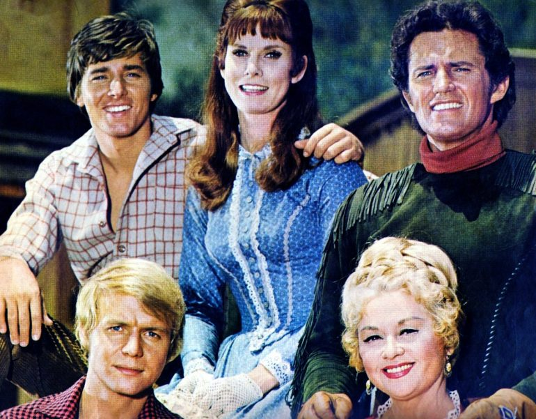 Vintage TV show Here Come the Brides - Cast