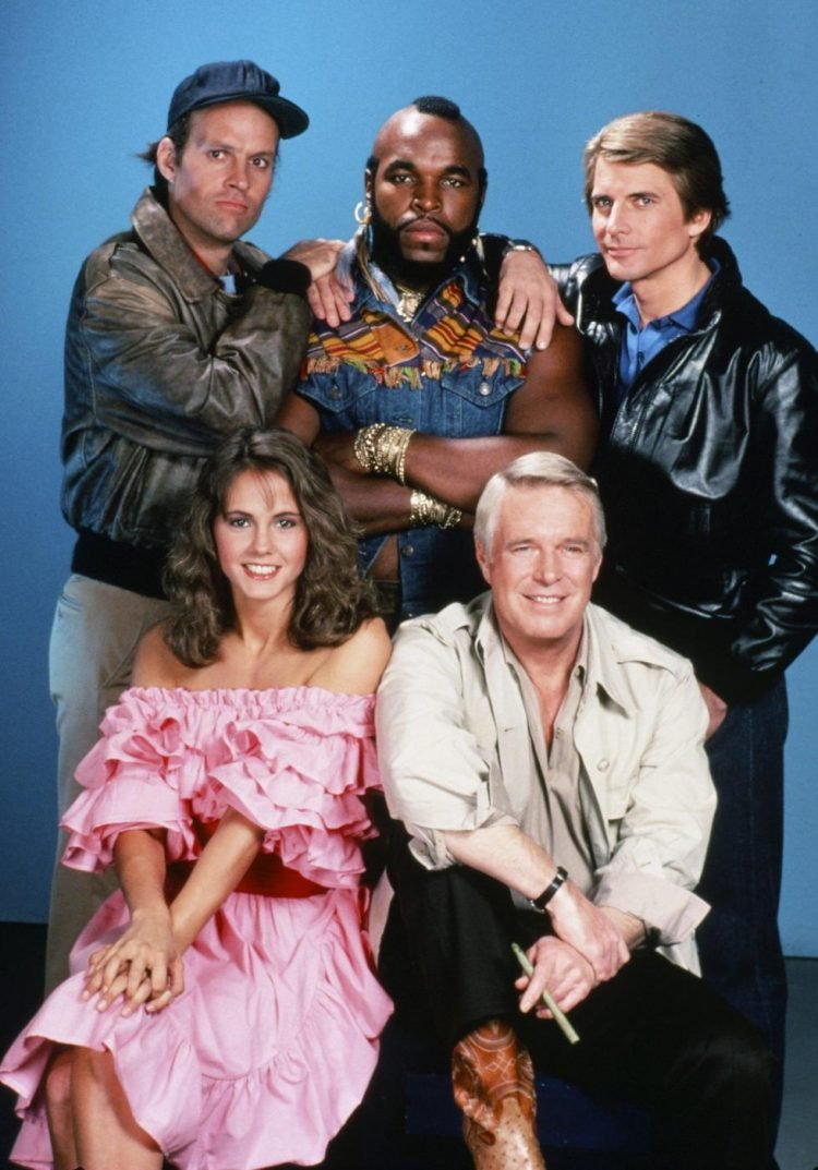 Vintage TV show - The A Team (1)