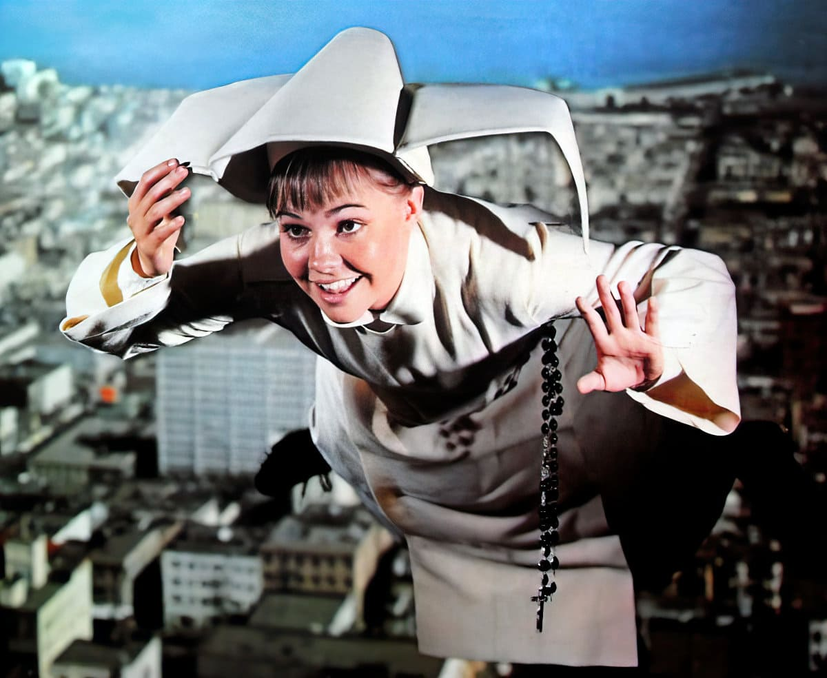 Vintage TV show the Flying Nun