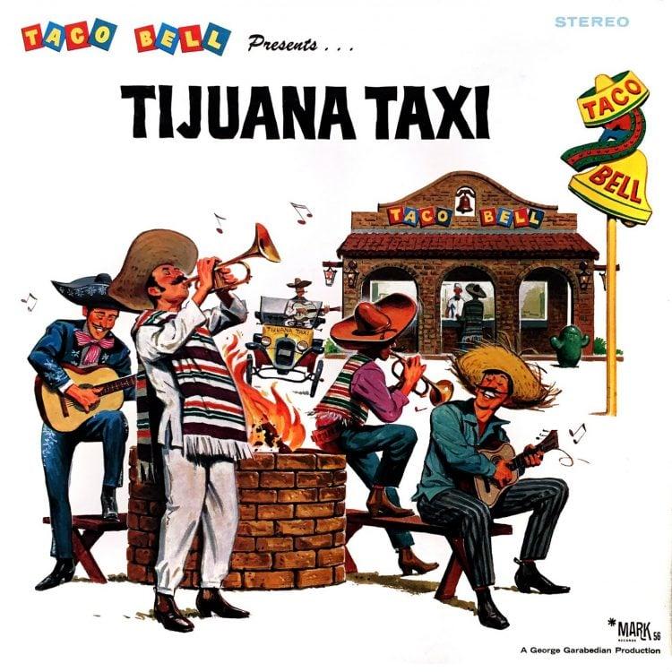 Vintage Taco Bell album - Tijuana Taxi