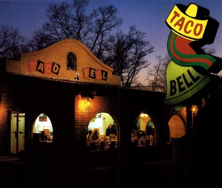 Vintage Taco Bell fast food restaurants in 1979 (3)