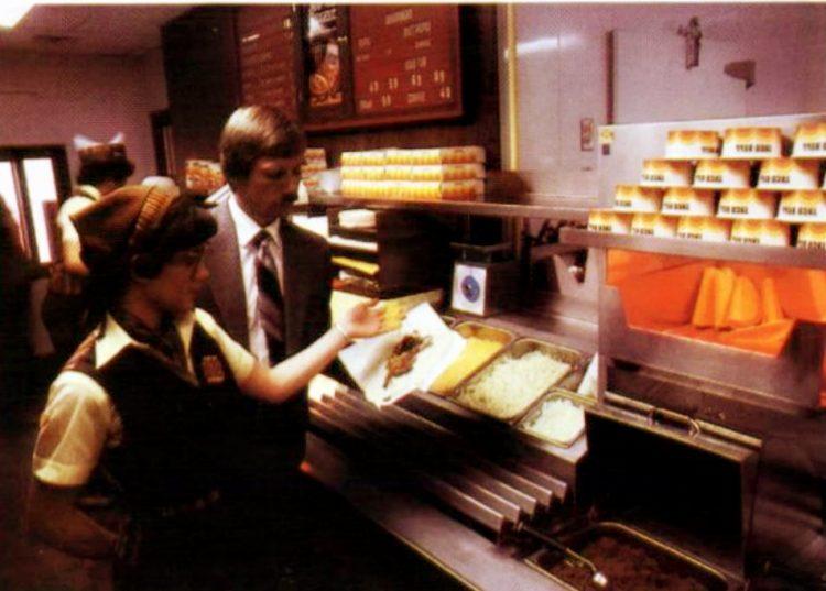 Vintage Taco Bell fast food restaurants in 1981 (1)