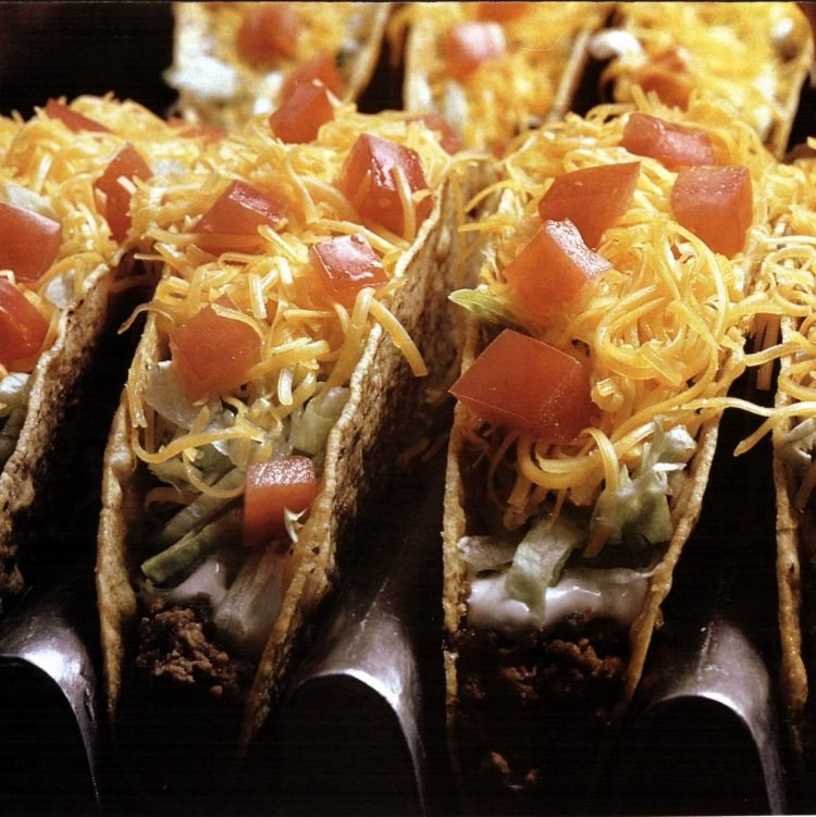 Vintage Taco Bell fast food restaurants in 1981 (2)