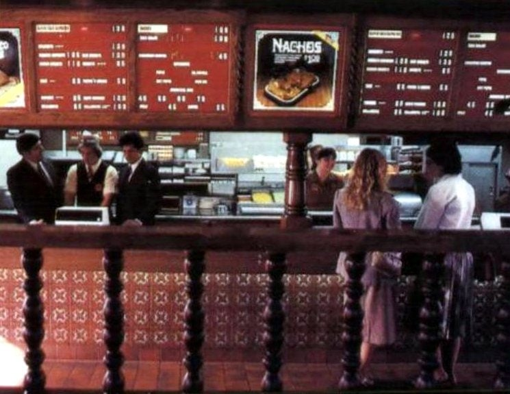 Vintage Taco Bell fast food restaurants in 1981 (5)
