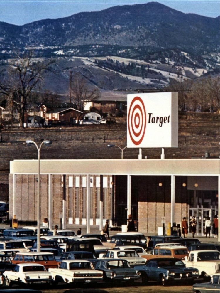 Vintage Target store from 1966 - from ClickAmericana com