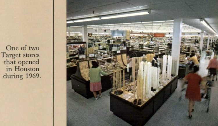 Vintage Target store from 1969 - from ClickAmericana com