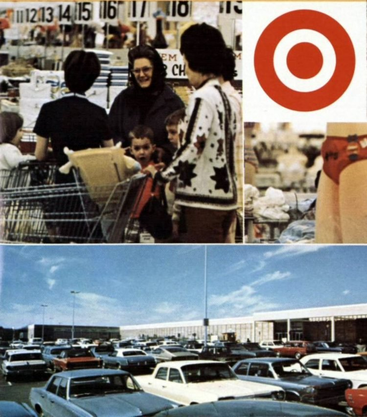 Vintage Target store from 1970 - from ClickAmericana com