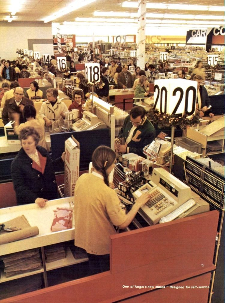 Vintage Target store from 1971 - from ClickAmericana com