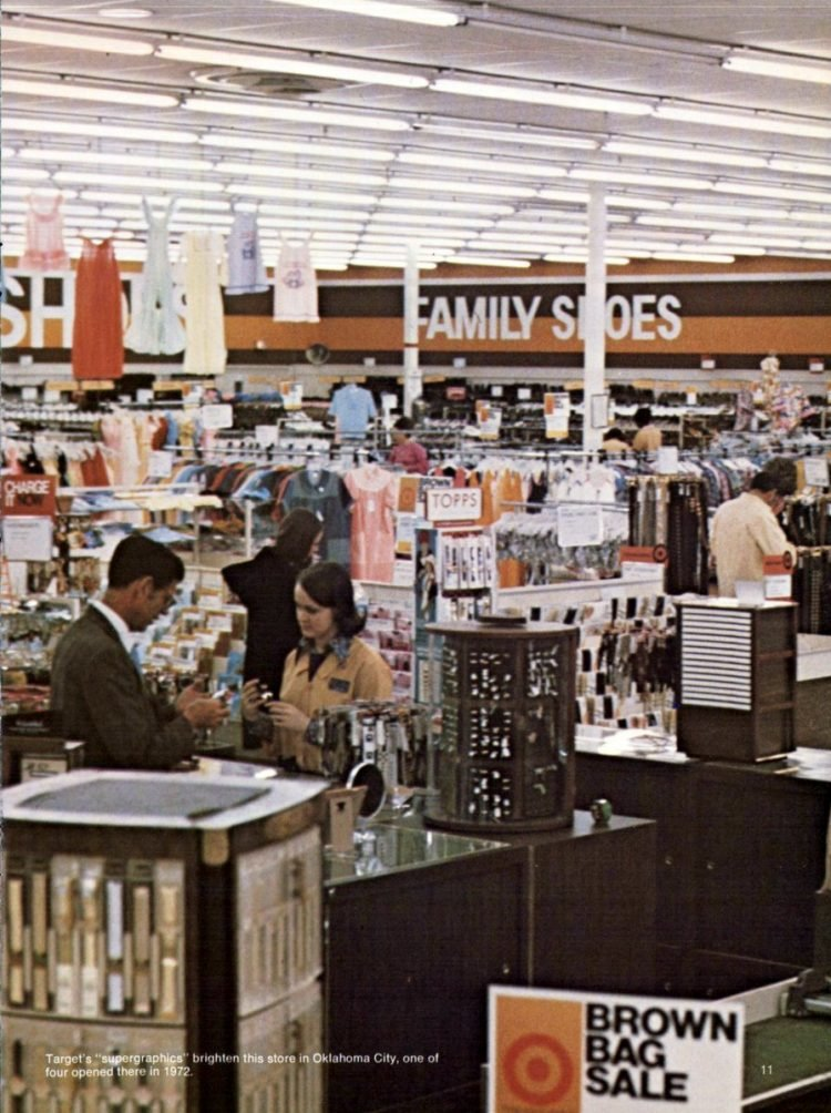 Vintage Target store from 1972 - from ClickAmericana com