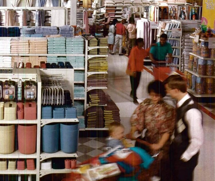 Vintage Target store from 1987 - from ClickAmericana com