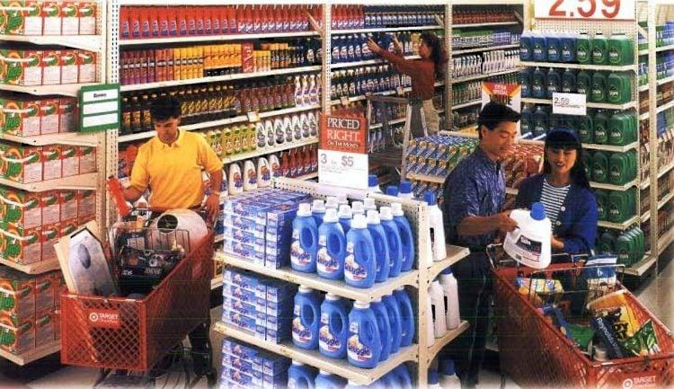 Vintage Target store from 1991 - ClickAmericana com