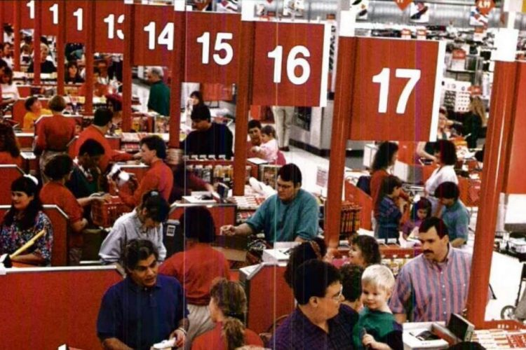 Vintage Target store from 1992 - ClickAmericana com