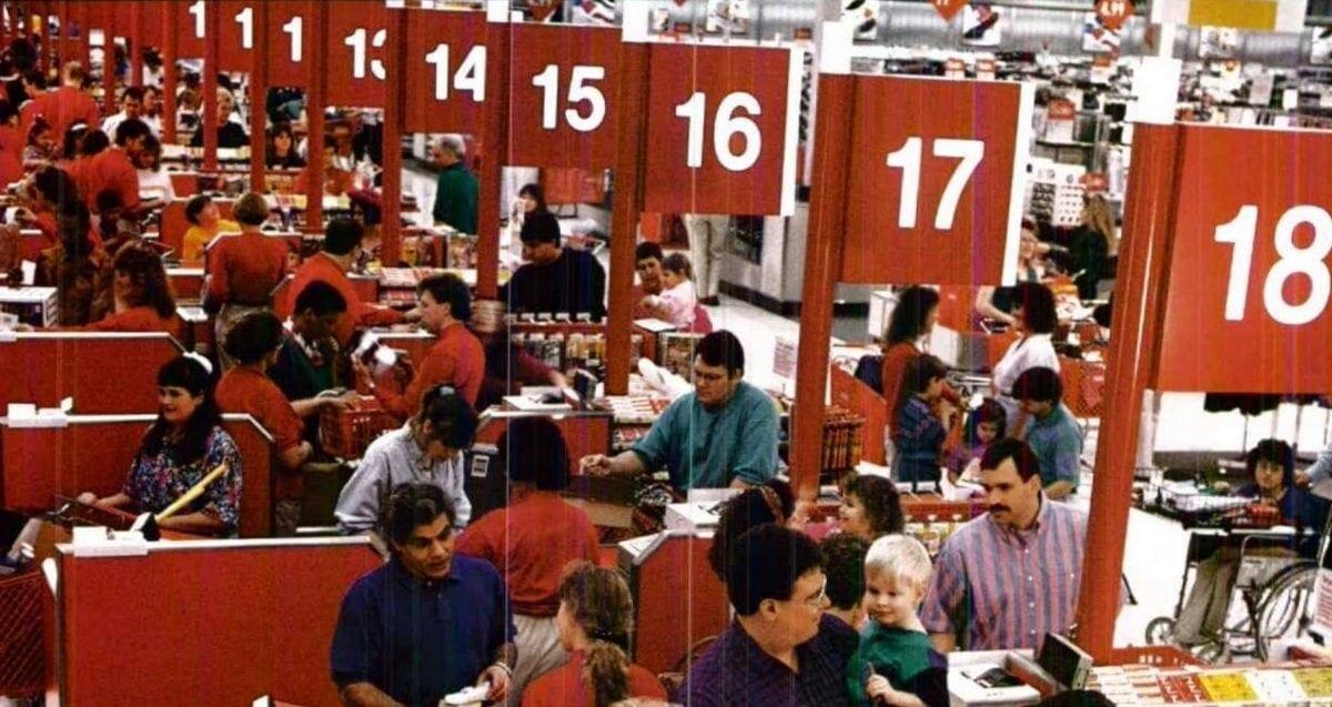 Vintage Target store from 1992 - ClickAmericana com