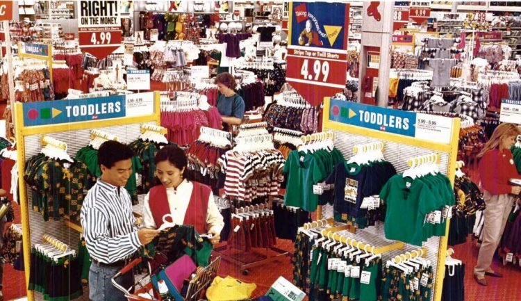 Vintage Target store from 1993 - from ClickAmericana com