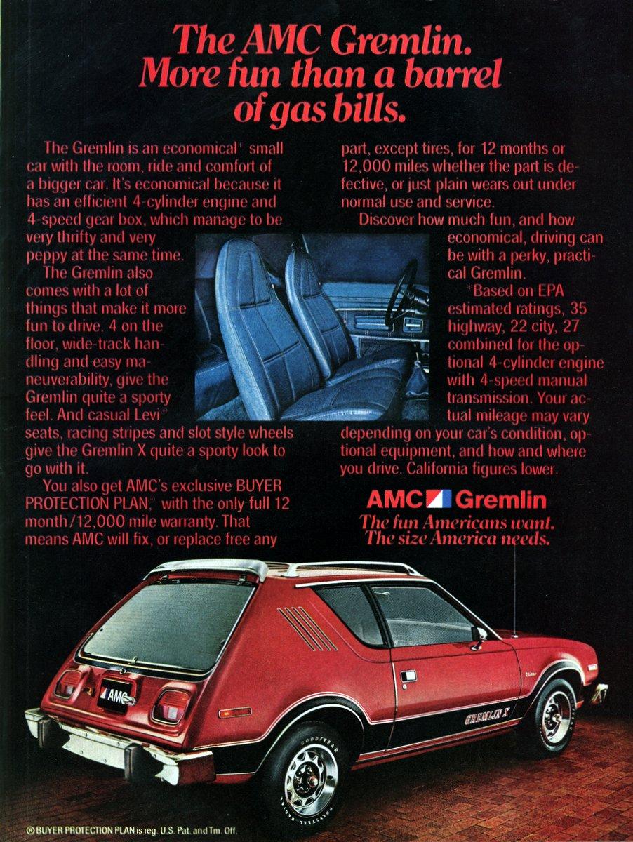 Vintage The AMC Gremlin (1978)